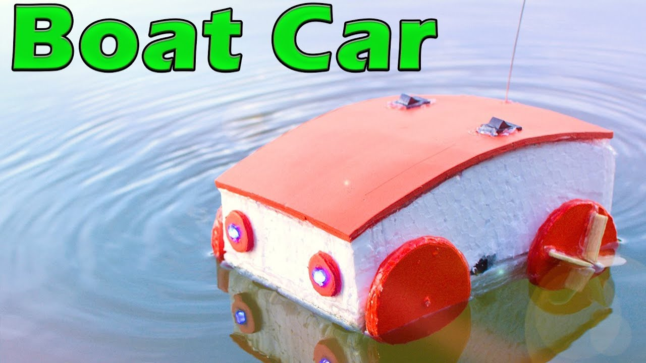 how to make rc boat