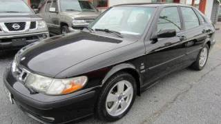 2002 Saab 9-3 SE Hatchback Start Up, Engine, and In Depth Tour