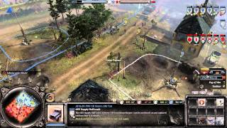 Company of Heroes 2-  Blocking an entire side off