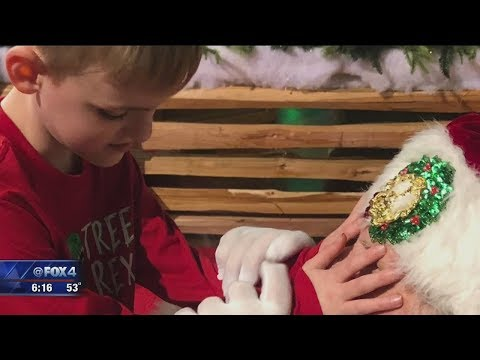 The Vinnie Penn Project - Blind, Autistic Boy's Magic Moment With Santa