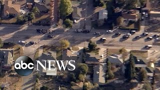 San Bernardino Shooting: News Helicopter Captures Dramatic Play-by-Play
