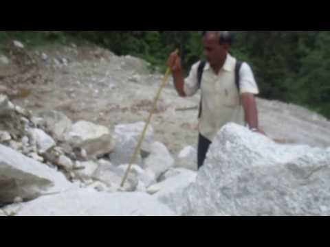 Dangerous road of Sankhuwasabha