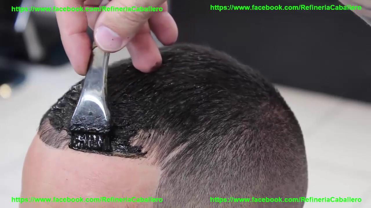 Peinados Para Hombres Con Poco Cabello Refineria Caballero Youtube