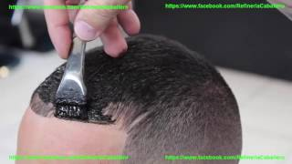 Peinados Para Hombres Con Poco Cabello Refinería Caballero Youtube