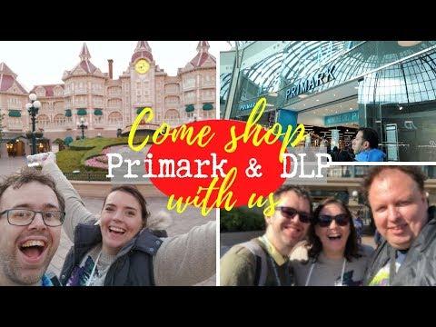 Disneyland Paris Vlog | Shopping In Disneyland Paris & Primark Val D'Europe | KrispySmore