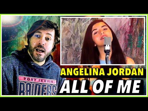 REACTION   Angelina Jordan - All of Me (John Legend)   BETTER THAN ORIGINAL ... AGAIN !!!!!!!! 😱