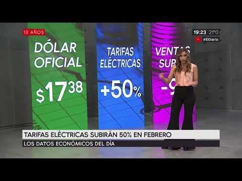 Tarifas Eléctricas subirán 50% en febrero