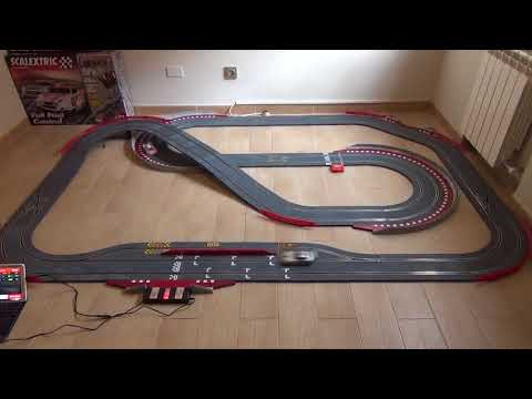 Mi Scalextric WOS – Carrera en modo 'Peace Car'