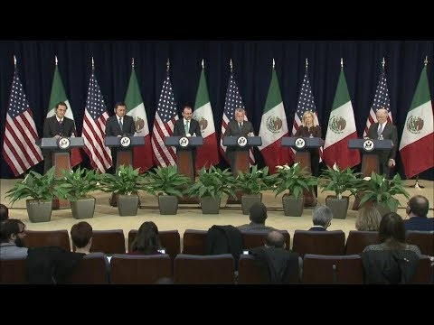 Second U.S.-Mexico Strategic Dialogue on Disrupting Transnational Criminal Organizations