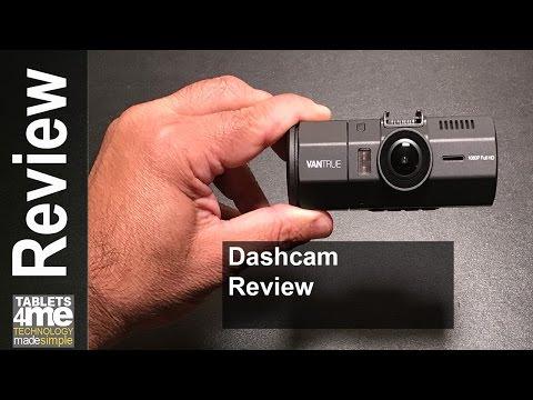 Vantrue N2 Dual Dash Cam Great For UBER And LYFT Drivers