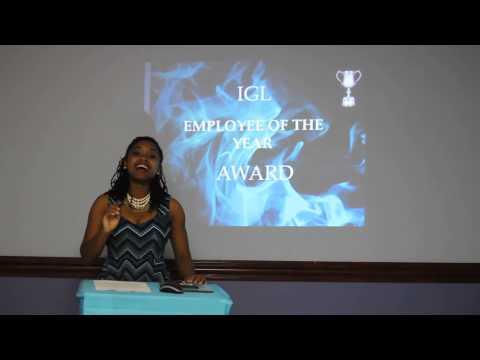 how to give an award presentation speech