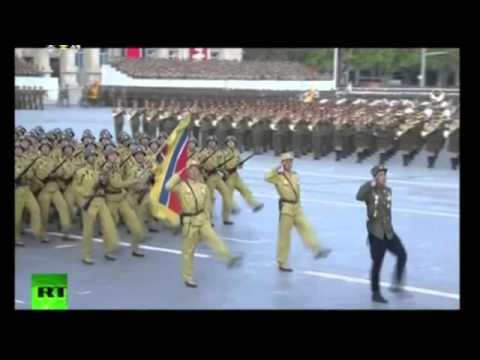 North Korea 2015 — Military Civilian Parade