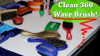 How to Clean Your 360 Wave Brushes & Fix Chipped Paint!