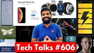 Tech Talks #606 -  iPhone Xs, Mi Mix 3, Asus ROG Phone, POCO F1 Update, Facebook AI, Molar Mic