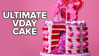 Delicious Red Velvet Cake with SURPRISE INSIDE! | Valentine
