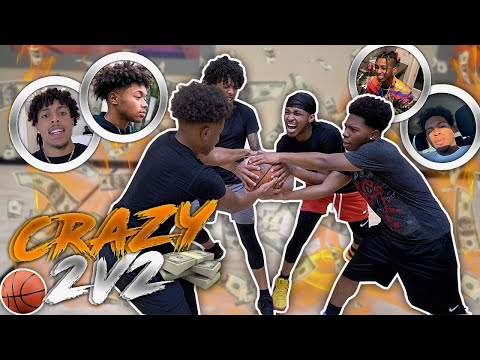 2V2 BASKETBALL w/ DDG vs SMOOTH GIO AND KING CID FOR $10,000! *Youtube Game Of The Year*