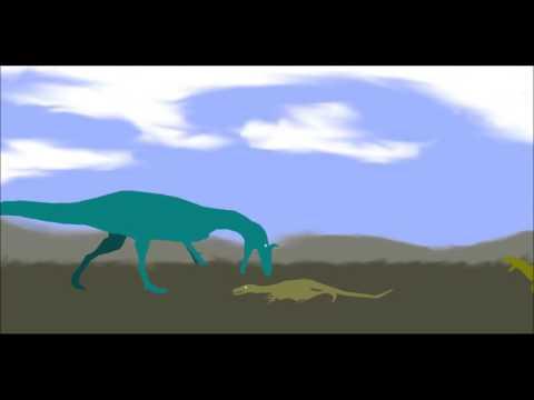 PPBA Cryolophosaurus vs Velociraptor