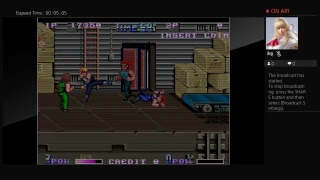 Arcade Archives DOUBLE DRAGON II THE REVENGE   (PS4) One Credit Game Sample