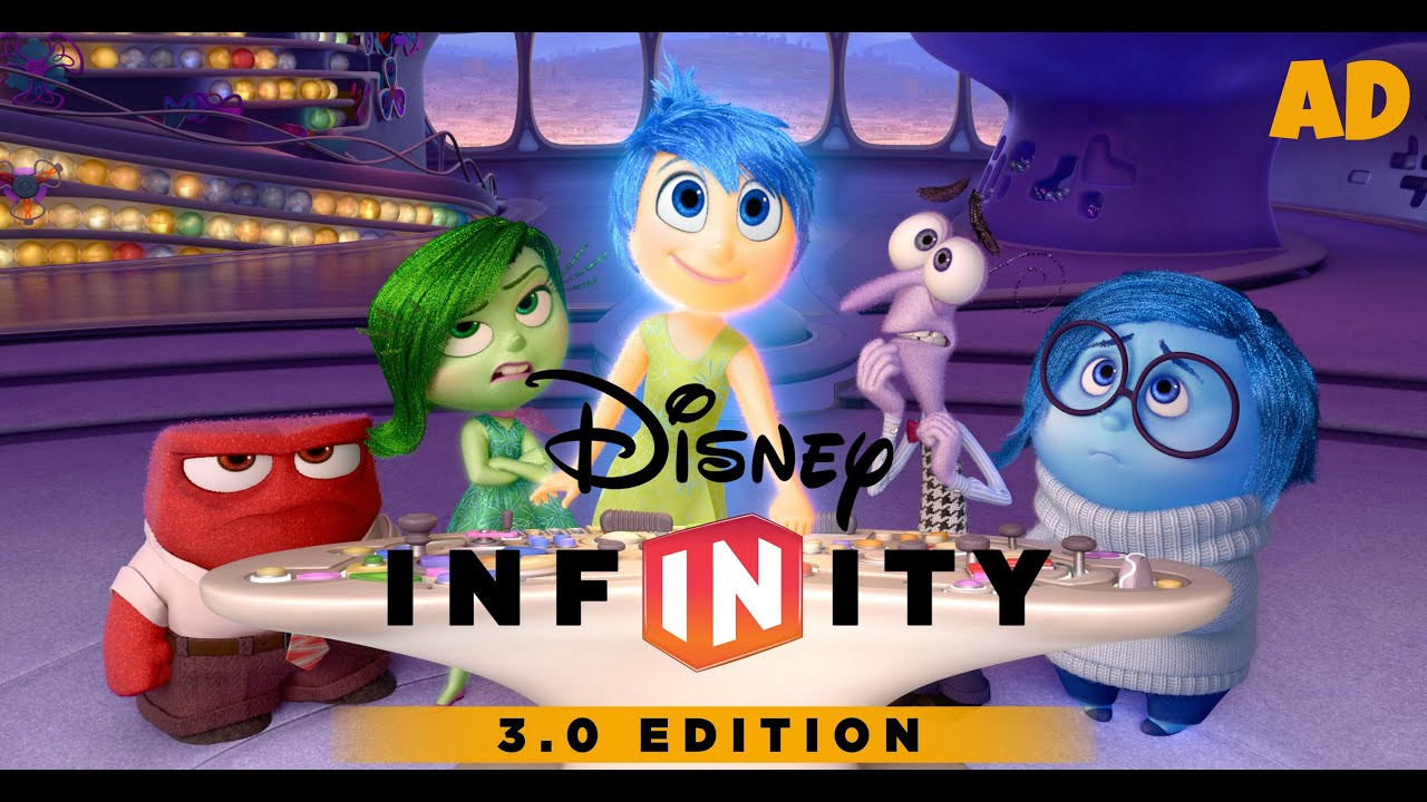 Xbox One Disney Infinity 3 0 Meet The Inside Out Characters Amy Lee33 Youtube