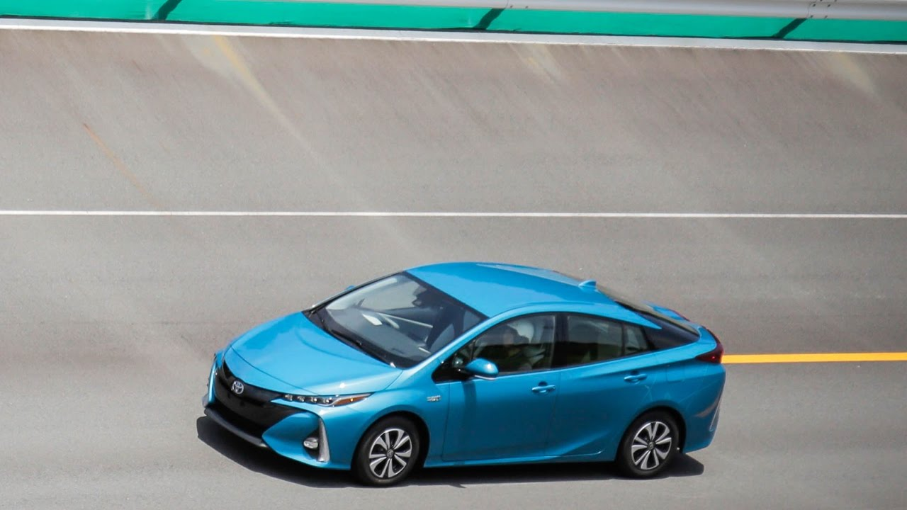 First Drive 2017 Toyota Prius Prime Plug In Hybrid Top Speed - YouTube