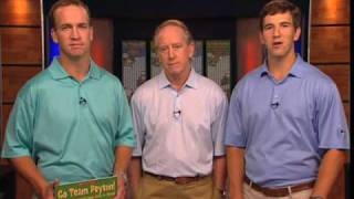 ClassroomsCare Kickoff Video from Archie, Peyton, and Eli Manning