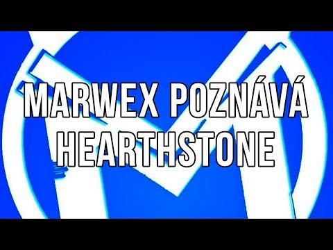 Marwex se učí hrát Hearthstone