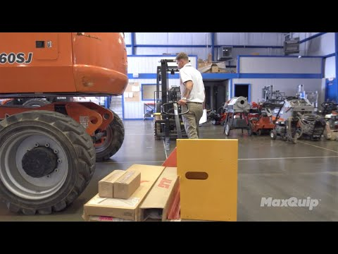 Blue Eagle Rentals Revamps Parts Ordering With MaxQuip™ From JLG