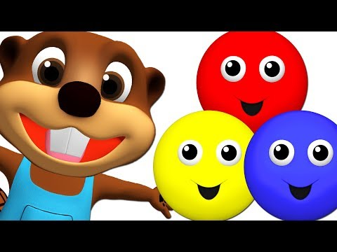 Baby Talk & Learn Colors with Color Songs Collection | Teach