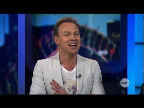 Jason Donovan interview on The Project (2012)