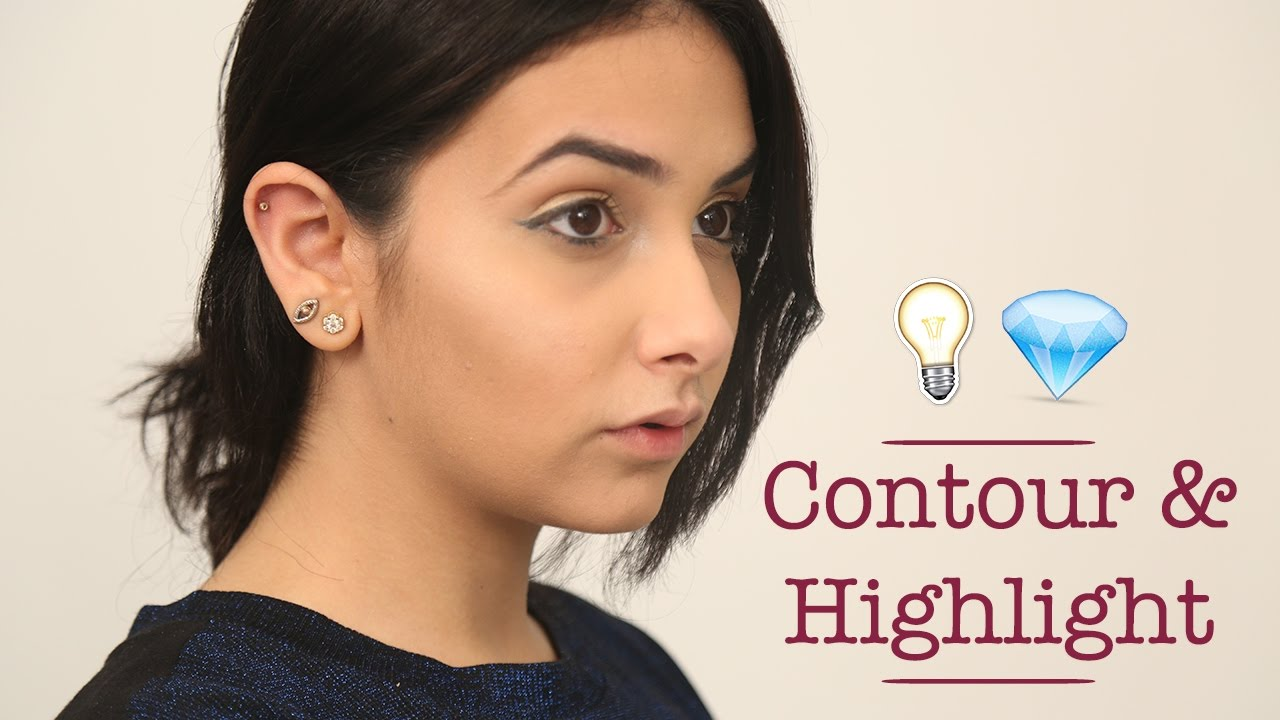 An Easy Way To Contour & Highlight