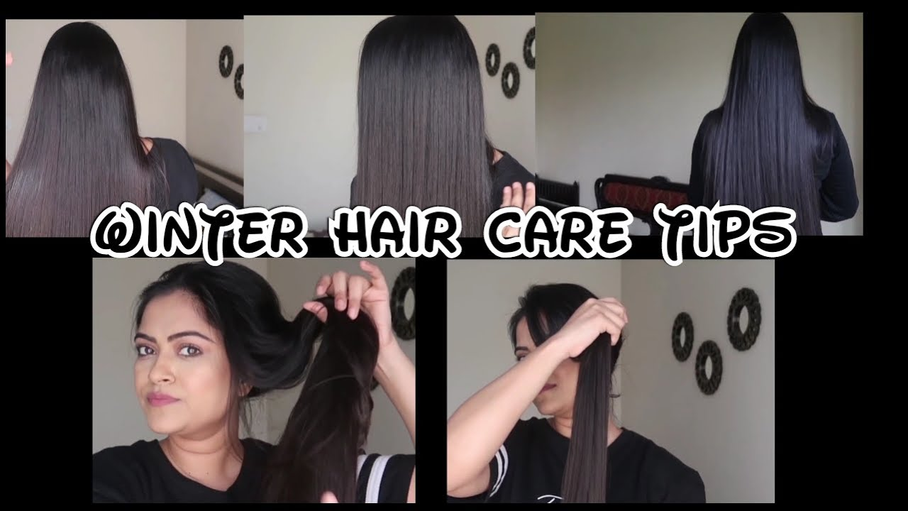 Winter Hair Care Tips Smooth Frizz Free Hair At Home Manage Long Hair Hairstyle Diaries Youtube