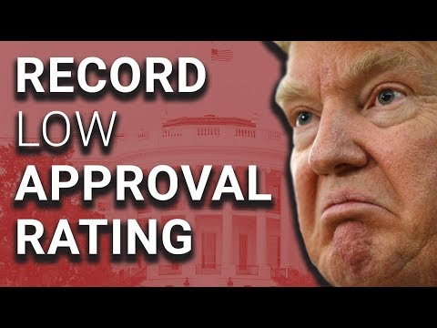 WHOA: Trump Hits Record Low 33% Approval