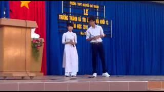 NCT le tri an cha me - thay co: van nghe cua hoc sinh 11 (lien khuc)