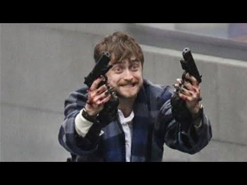 Гарри Поттер играет в Кальмара