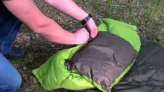 Как использовать пеленки на молнии Woombie - YouTube