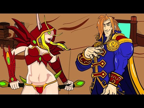 Thumbnail: Rogue vs Uther: Best Funny moments: A Hearthstone Cartoon, New card Barnes one night in karazhan