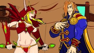 Rogue vs Uther: Best Funny moments: A Hearthstone Cartoon, New card Barnes one night in karazhan