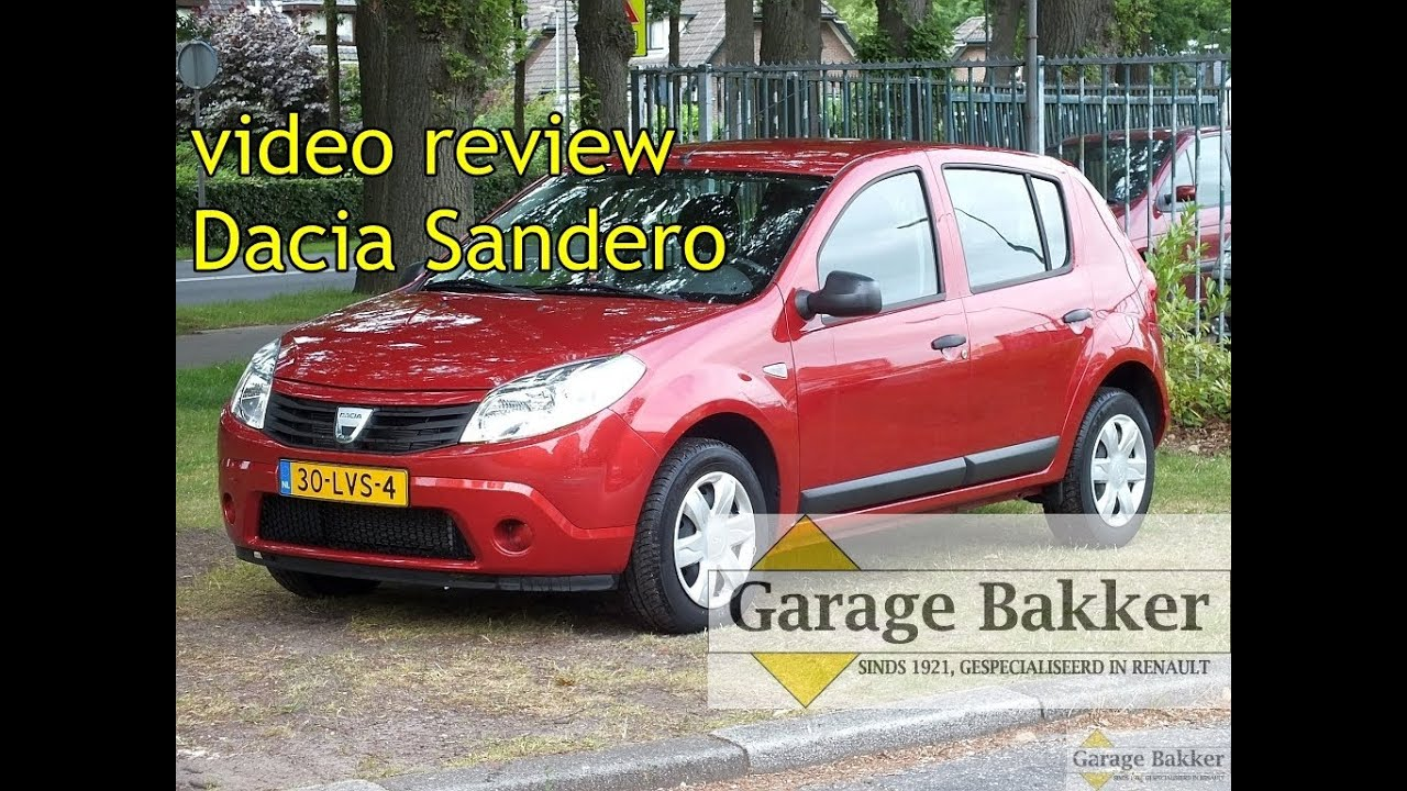 video review dacia sandero 1 2 16v 75 ambiance 2010 30 lvs 4 youtube. Black Bedroom Furniture Sets. Home Design Ideas