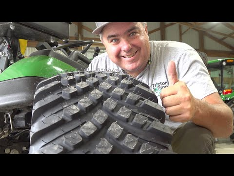 New Radial Tire For Deere 1-Series And Other Sub-Compact Tractors