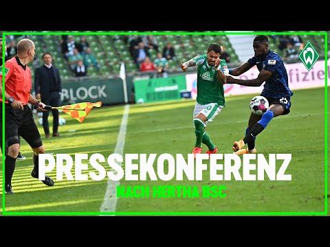 SV Werder Bremen – Hertha BSC 1:4   Pressekonferenz  