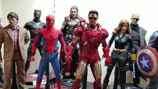 Hot toys avengers mini display 2018