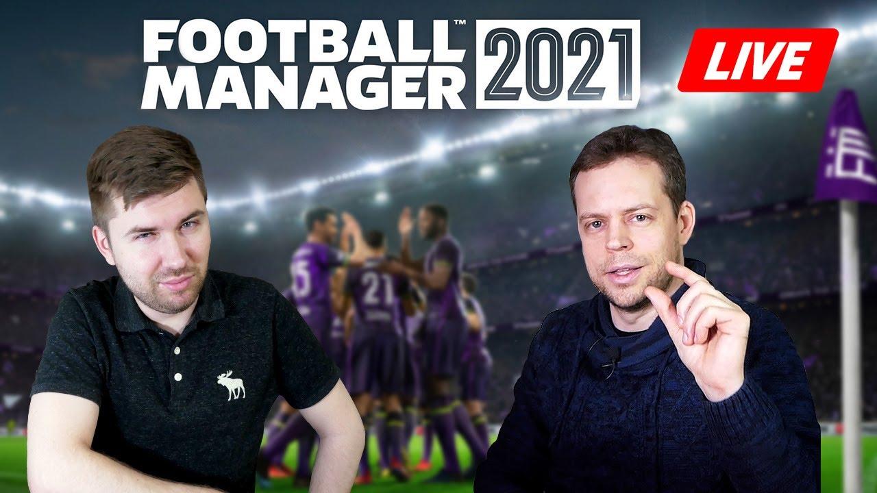 Новые тренеры ШАЛЬКЕ / Football Manager 2021 [СТРИМ, 19:00 мск]