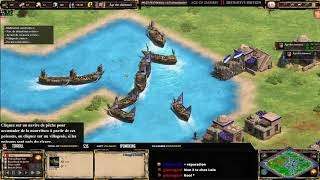 AoE 2: Définitive Edition - EXPERT PLAYERS ! COOL vs ZUPPI - MAP RIVERS