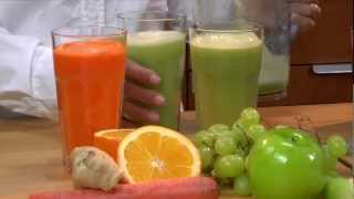 Home Made Blended Juices - LeGourmetTV