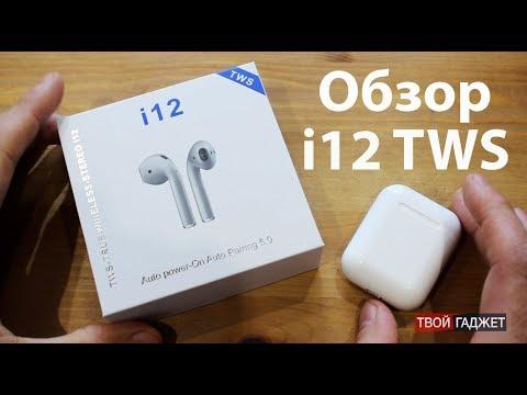 Навушники Безпровідні Afans TWS i12 GP-Pro Білі Блютуз Безпровідні Сенсорні (162472178)