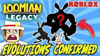 LOOMIAN LEGACY EVOLUTION REVEAL (Roblox) - Embit
