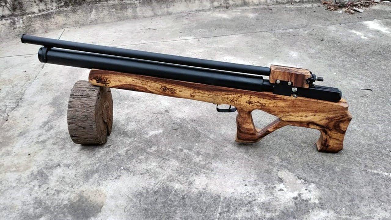 Homemade Powerful Air Gun| Simplest Tutorial