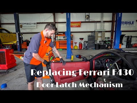 Ferrari 360 and F430 Door Lock Issue Explained