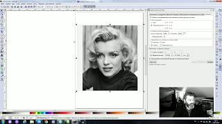 Быстро делаем векторный полутон в Inkscape