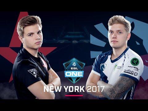 CS:GO - Astralis vs. Team Liquid [Cache] Map 2 - Group B Decider - ESL One New York 2017
